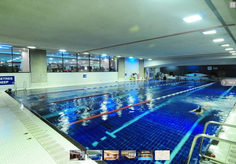 St Giles hotell swimingpool