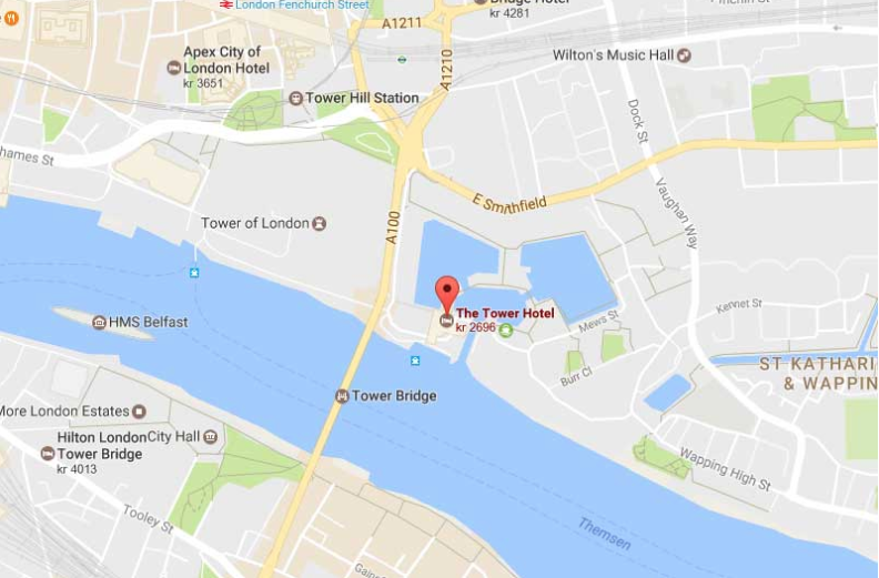 Karta Tower hotell London