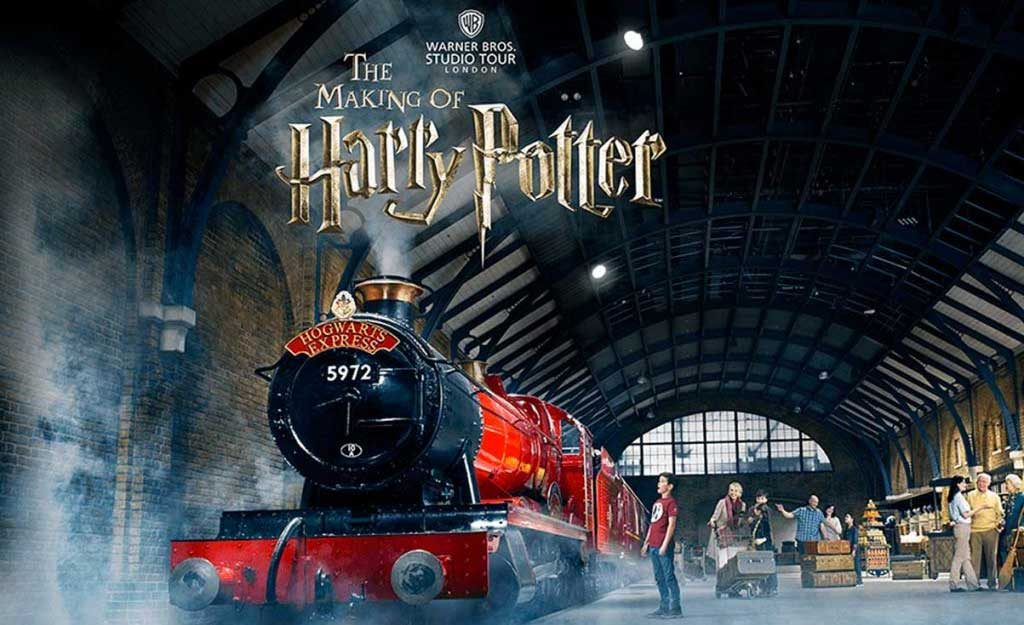 Harry Potter Studio London train