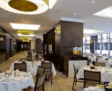 President hotell London breakfestroom
